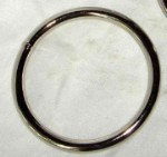 3 1/2 Inch Nickel Plated O Ring