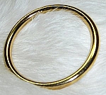 3 Inch Brass Plated O Ring