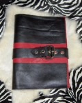 Submissive Journal Red & Black Leather
